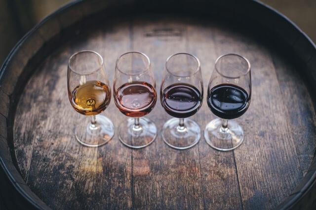 Los tipos de Vinos